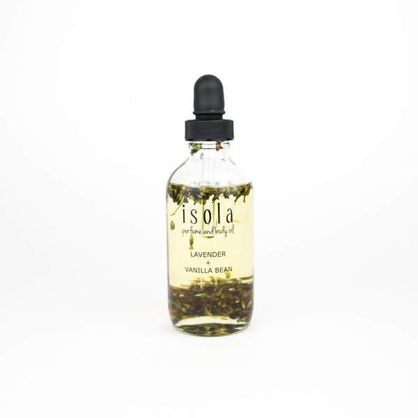 Lavender Vanilla Bean Body Oil