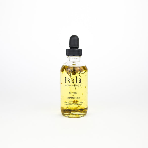Citrus Chamomile Body Oil