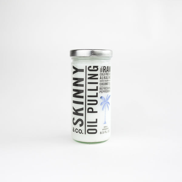 Skinny Peppermint Oil Pulling