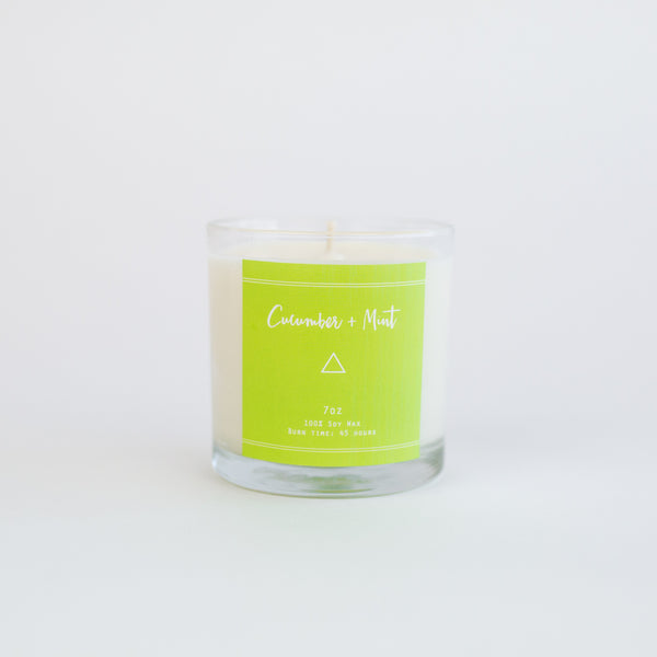 Cucumber + Mint - Candle
