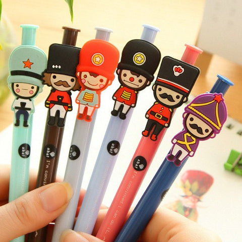 Cute  Ballpoint pens - Royal Guards Soldiers ×2