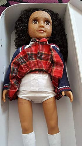 Darcy Curl Dolls - Mixed Race with Curly Hair plus Carry Case