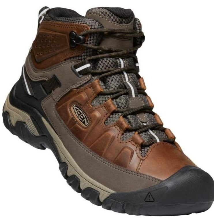 Boots Keen Keen Targhee III Mid 1023030 Men's Walking Boot Chestnut