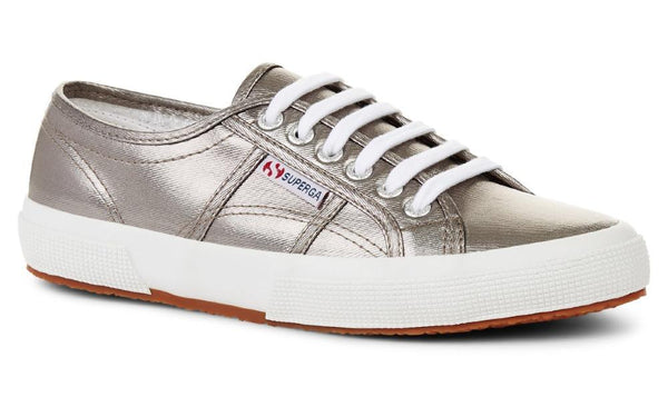 Shoes Superga Superga 2750 CotMetu Grey Metallic