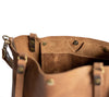 Made in USA Classic Handmade Leather Tote Bag Large,  - In Blue Handmade