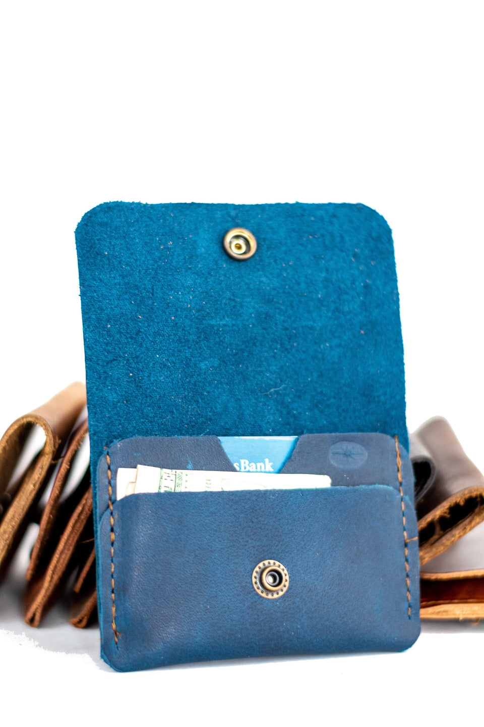 Leather Card Wallet | Front Pocket Wallet | Card Holder