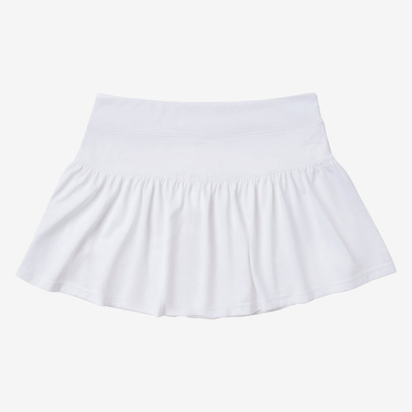 Gathered Tennis Skirt