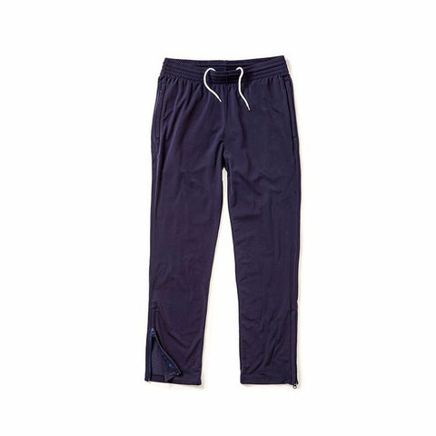 Zip Leg Sweatpant - Navy