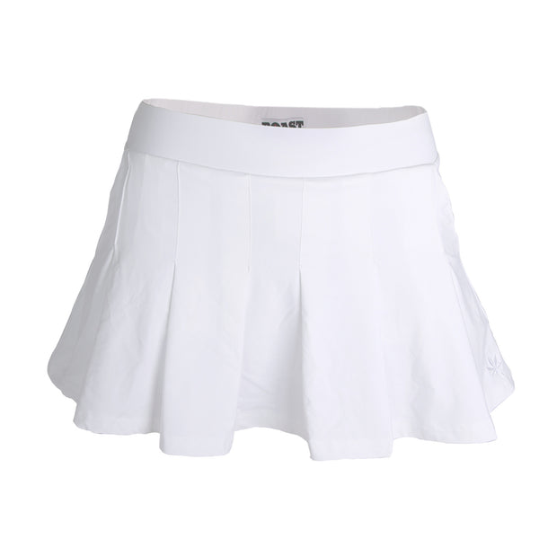 Pleated Skort - White