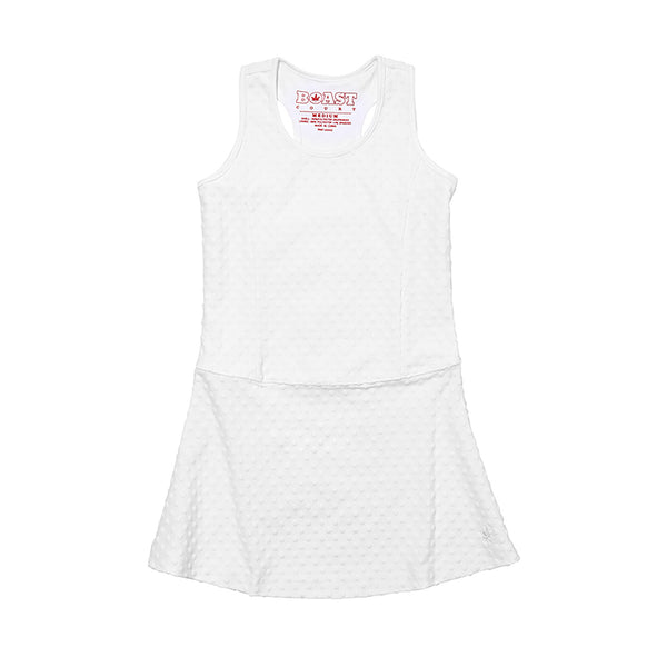 Girl's Dotted Tennis Dress