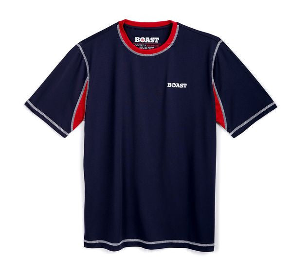 Boast Court Crew - Navy with Red