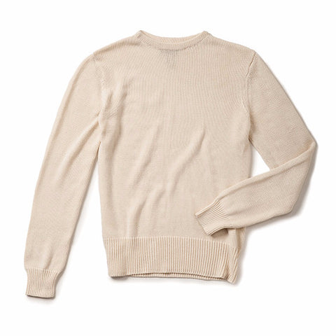Boatneck Sweater - Ivory