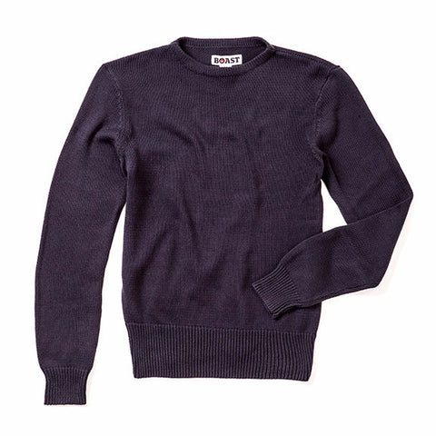 Boatneck Sweater - Navy