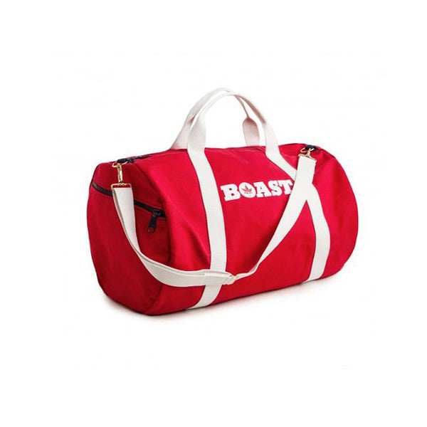 Canvas Duffel in Red