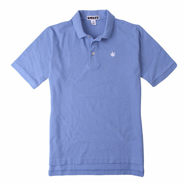 Classic Solid Pique Polo - Carolina Blue