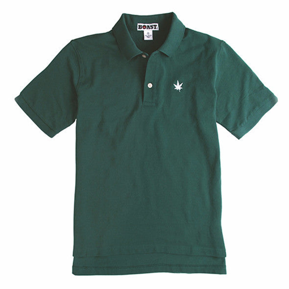 Classic Solid Pique Polo - Forest Green