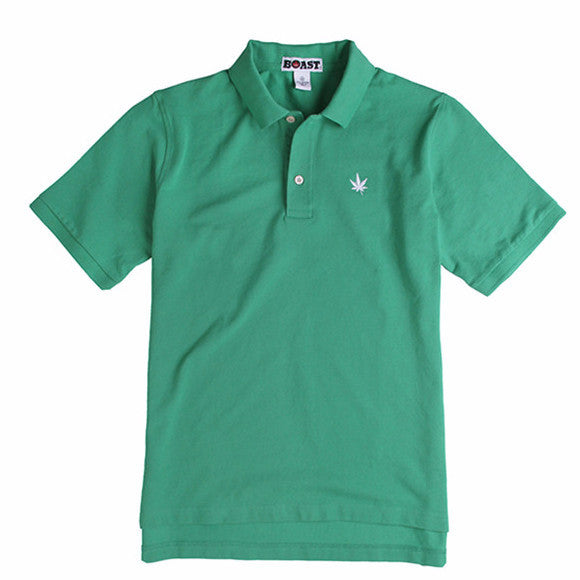 Classic Solid Pique Polo - Kelly Green