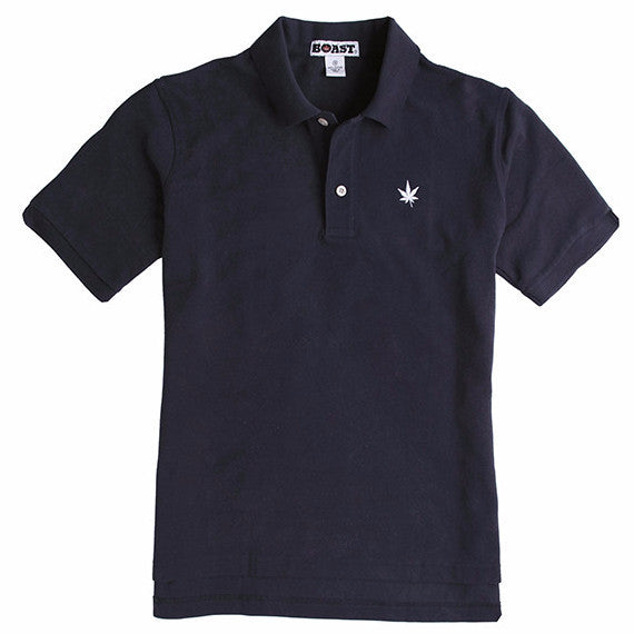 Classic Solid Pique Polo - Navy