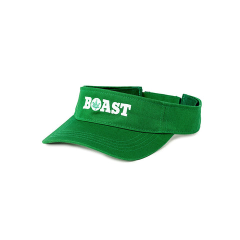Classic Wordmark Twill Visor - Kelly Green