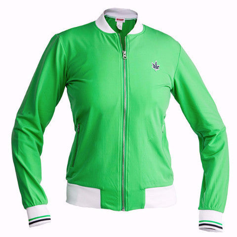Women's Court Zip-Up - Cadmium Green