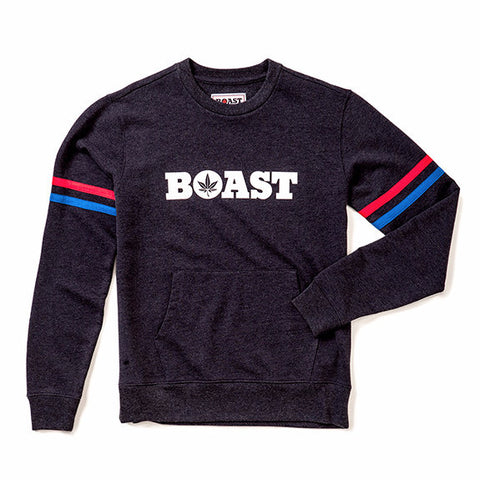 Crewneck Wordmark Sweatshirt - Navy