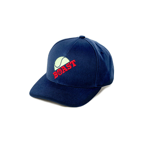 Half Ball Baseball Hat in Navy