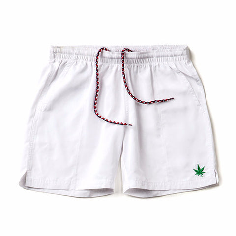 Match Short - White