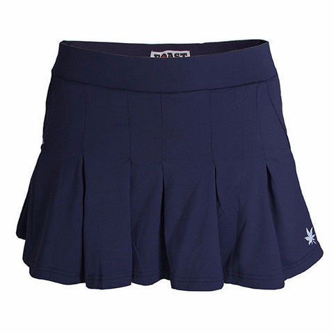 Pleated Skort - Navy