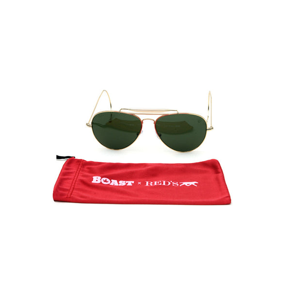 RED's for Boast Sunglasses