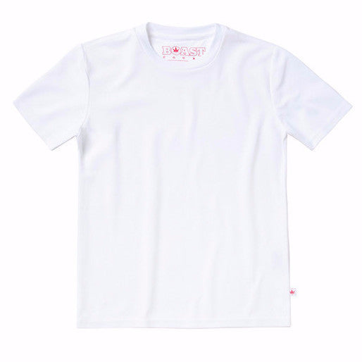 Solid Court Tee - White