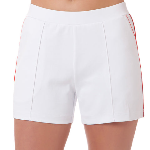 Tennis Short - White