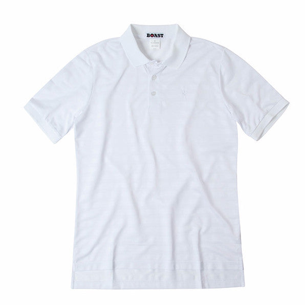 Boy's Texture Stripe Polo