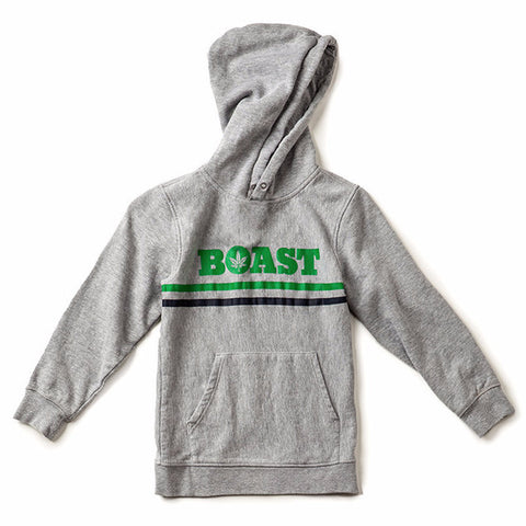 Wordmark Hoodie - Heather Grey
