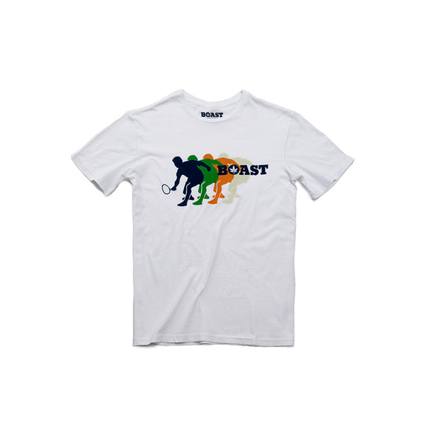 Wordmark Silhouette Tee - White