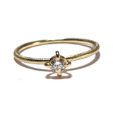 18K Yellow Gold, Diamond