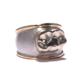 Palladium, 14K Yellow Gold, Client's Grandfather's Gold tooth