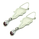 Arabic Earrings with Dangle