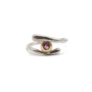 Wrap Around Tourmaline Organic Ring