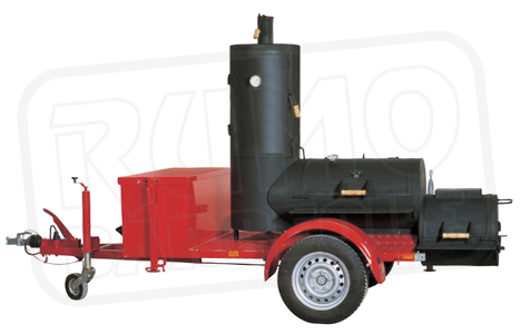 "20"" Chuckwagon Catering Smoker Trailer"