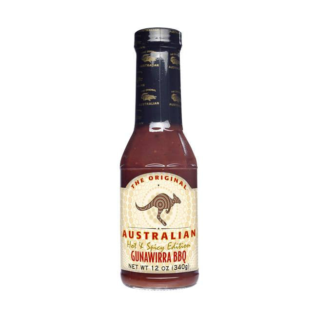 Gunawirra Hot & Spicy BBQ Sauce