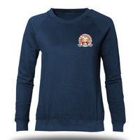 Damen Promo-Sweater mit Brustdruck