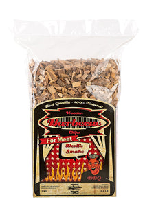 WOOD SMOKING CHIPS - Devil's Smoke