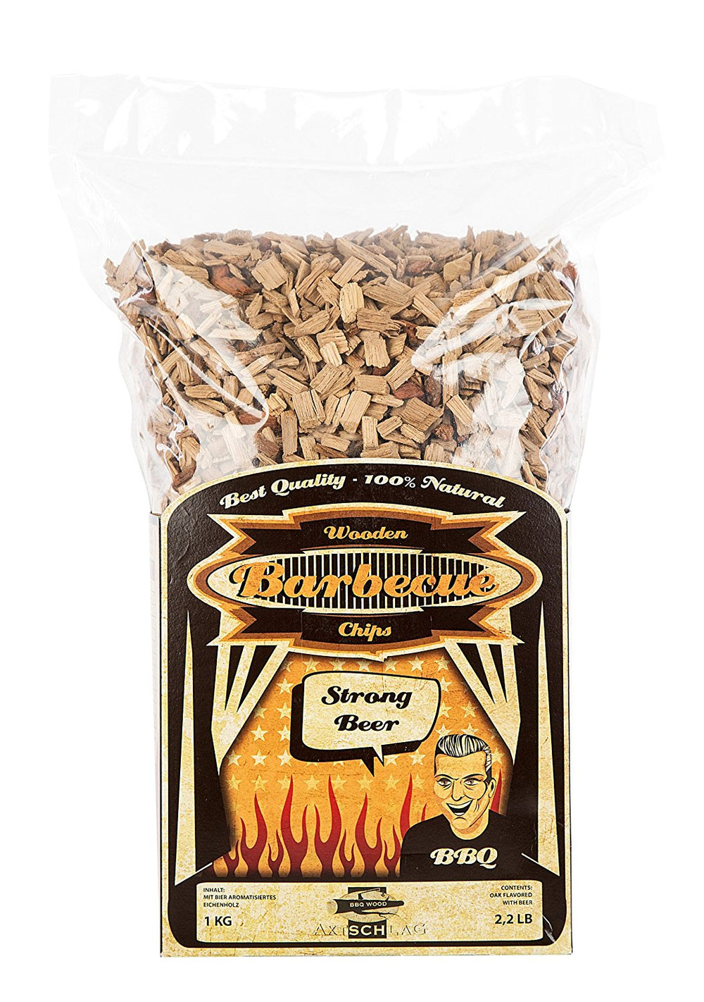 WOOD SMOKING CHIPS - Strong Beer