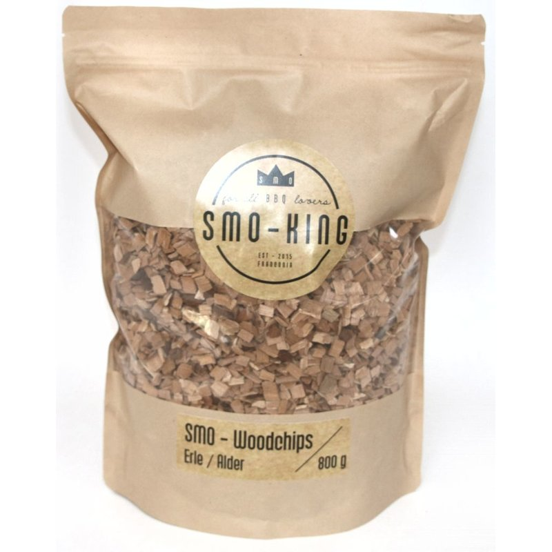 SMO-Woodchips Erle - 800g