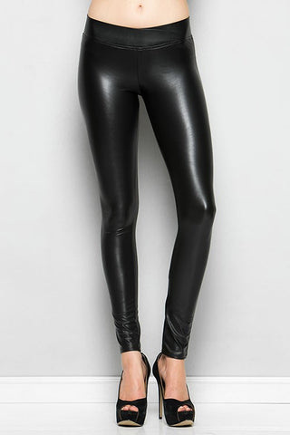 Axel Leather Leggings