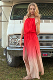 Tahitian Sunset Dress - Unhinged Boutique
