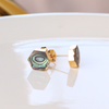 Natural Abalone Shell Stud Earrings