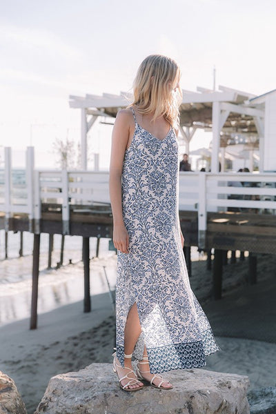 Sea Breeze Maxi Dress - Unhinged Boutique