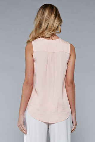 Peach Sorbet Lace Top