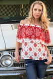 Growler Off The Shoulder Top - Unhinged Boutique